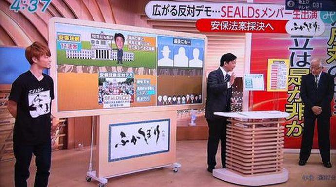 """SEALDs批判で矛盾と嘘をさらけ出すマスコミと日本社会 """"質量無限大の馬鹿""""長谷川豊氏のログを遡る houdouhigai netouyo"""