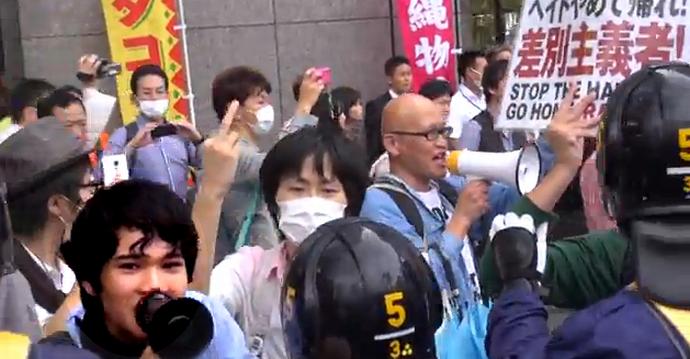 在特会 会長の桜井、大阪で橋下市長に泣かされるの巻 差別主義者の屁理屈と議論する必要なし、これこそ正しい対峙の仕方 netouyo yakunin politics