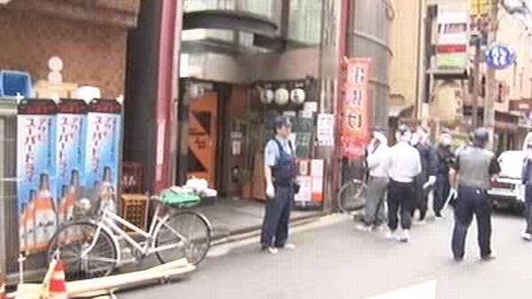 「お金が足りない」とガールズバー店長と口論、階段から突き落とした客土田英次を逮捕殺したり殺されたり忙しい大阪の夜 %e6%b6%88%e8%b2%bb soho%e3%83%bb%e8%87%aa%e5%96%b6 domestic jiken economy