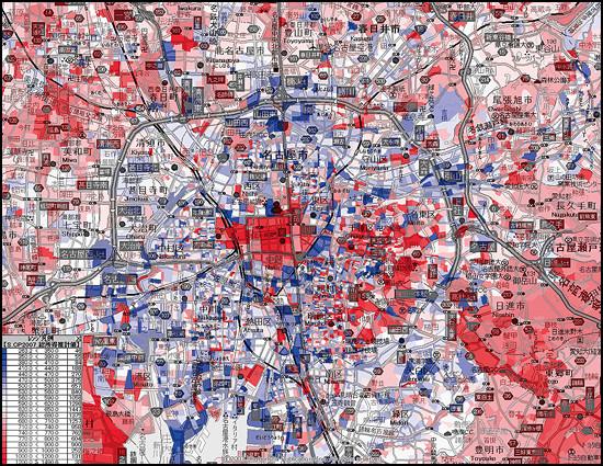 車なしで過ごせる街しか発展できない?都市別進学率などで見る衰退する街、繁栄する街 economy health %e6%b6%88%e8%b2%bb %e6%94%bf%e7%ad%96%e3%83%bb%e7%9c%81%e5%ba%81 %e4%bd%8f%e5%b1%85