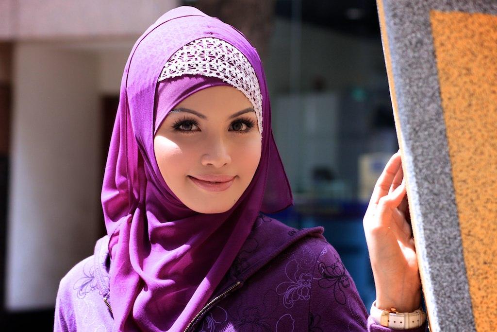 Красивое фото девушек мусульманок с